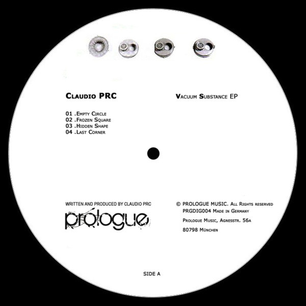 Claudio PRC – Vacuum Substance EP (Prologue Music)