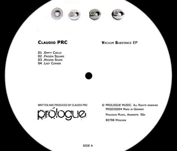 Claudio PRC – Vacuum Substance EP (PrologueMusic)