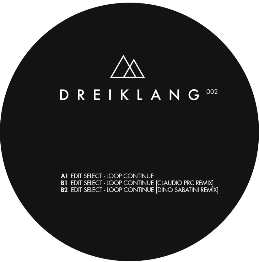 Edit Select – Loop Continue (Claudio PRC Remix) (DreiklangRecords)